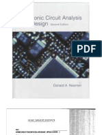 Electronic Circuit Analysis and Design by Neamen