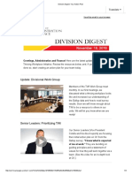 Division Digest_ Your Action Plan