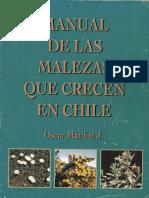 Manual de Las Malezas Que Crecen en Chile-copy