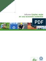 Empleo Verde en Un Cambio de Productividad Sostenible