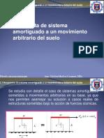 Respuesta a Un Movimiento Arbitrario Del Suelo. Ing.Carmen Chilòn