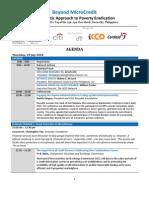 Conference Agenda Final