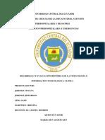 Desarrollo y Evaluación Histórica de La Toxicología e Informacion Toxicologica Clinica