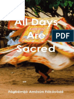 All Days Are Sacred (Fakayode)