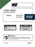 power blower leaf blower