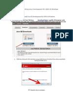 Tutorial Instalasi Java JDK