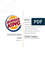 Operations - Burger King