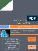 PROYECTOS Y SU EVALUACI+ôN