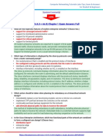 CCNA 3 (v5.0.3 + v6.0) Chapter 1 Exam Answers 2017 – 100% Full