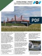 Kwidzyn Bridge – Poland - VSL
