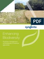 Syngenta Enhancing Biodiversity Brochure