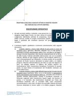 AIA C E L Disciplinare Operativo Approvato Dal Comitato Nazionale Nella Seduta Del 13 05 2017