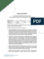 AIA C E L Modello Di Adesione Approvato Dal Comitato Nazionale Nella Seduta Del 13 05 2017