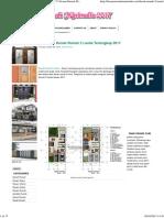 27 Contoh Denah Rumah 2 Lantai Terlengkap 2017 _ Desain Rumah Minimalis 2017