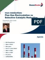 NOx reduction