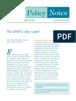 The JPEPA Why Ratify