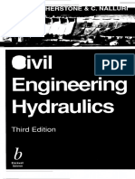 Civil Engineering Hydraulics- Essential Theory With Worked E