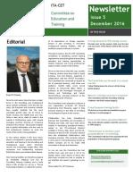 ITA-CET Newsletter Issue 5 V5