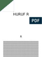 Huruf R
