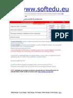 4 Lista Preturi Modelari 3D