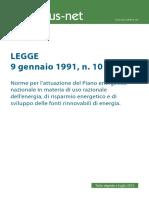 Legge-10-91