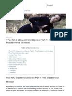 The INTJ Mastermind Series Part 1_ the Mastermind Mindset
