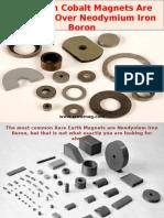 Samarium Cobalt Magnets Are Preferred Over Neodymium Iron Boron.pptx