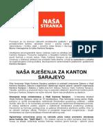 NS Program NasaRjesenja