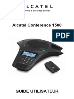 Alcatel Phone Conference 1500 Mode Emploi FR