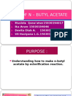 MAKING OF N – BUTYL ACETATE.pptx