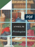 Anselm de Canterbury - Proslogion.pdf