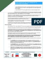 PromatUK_TDS152_ Cafco_ FENDOLITE®_MII _Primer_Compatibility Guidance