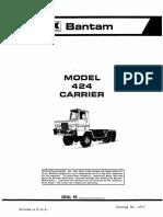 424 Parts Carrier