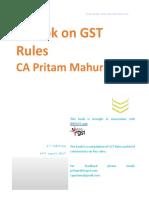Handbook on GST Rules - 3rd Edn - CA Pritam Mahure