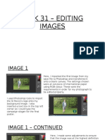 Task 31 – Editing Images