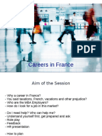 Careers in France