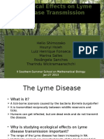 GROUP2 - Ecological Effects on Lyme Disease Transmission