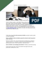 Livros Que Ajudam a Diminuir o Estresse No Trabalho
