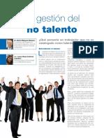Artículo La Gestion Del No Talento Revista Leadership