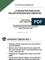 Peran Magister Kesehatan Dalam Penanganan Obesitas 1