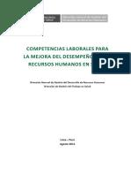 MINSA Competencias Laborales para la mejora del desempeño de los RRHH en Salud 2011.pdf