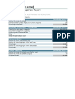 Knowledge Management Report1 From Excel
