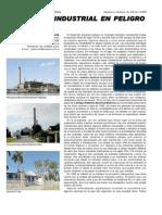 Patrimonio Industrial en Peligro