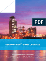 Rolta OneView 6.0 for Chemicals