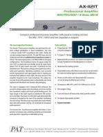 Axxent 1121T e specificatii tehnice