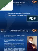 11-14yrs - Darwin - Darwins Observations - Classroom Presentation