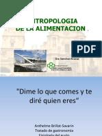 Sánchez Alvarez- Antropología de La Alimentación (Historia) Power Point