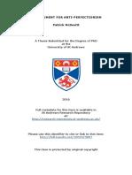 2016 Anti-perfectionism Patrick-Mc-Devitt-phd-thesis