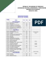 Informe Academico Educ Integral