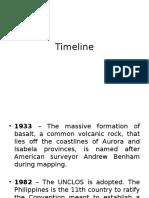 Timeline Benham